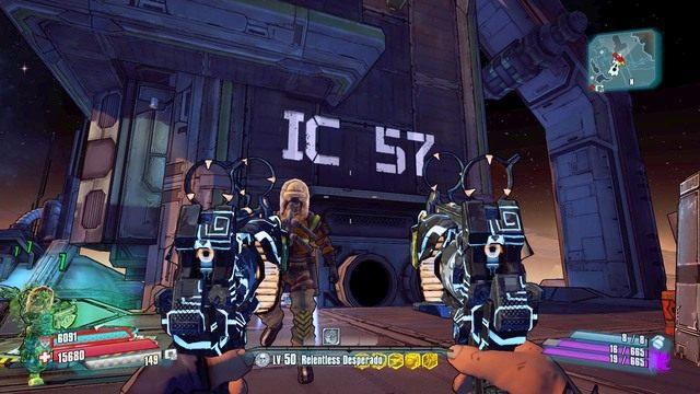 Jak widać na obrazku brakuje dwóch liter żeby uzupełnić wymagane hasło - Nel - Bossowie i taktyki - Borderlands: The Pre-Sequel! - poradnik do gry