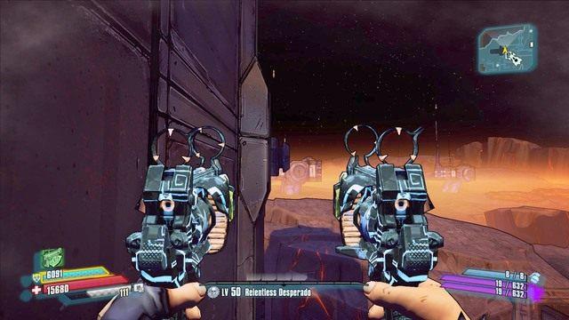 W tym momencie musisz popisać się umiejętnością korzystania z boostera - Nel - Bossowie i taktyki - Borderlands: The Pre-Sequel! - poradnik do gry