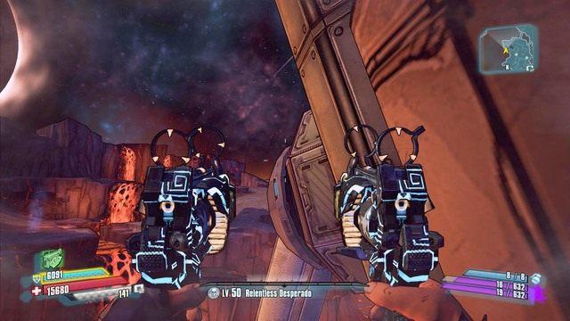 Po skoku na podest podejdź do końca krawędzi - Nel - Bossowie i taktyki - Borderlands: The Pre-Sequel! - poradnik do gry