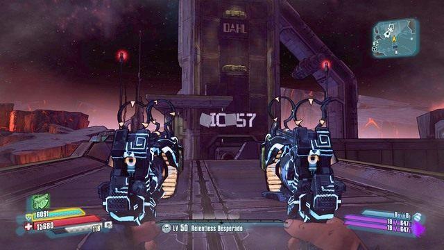 Powróć z literami do miejsca pokazanego na obrazku i umieść je na napisie tworząc słowo dick - Nel - Bossowie i taktyki - Borderlands: The Pre-Sequel! - poradnik do gry