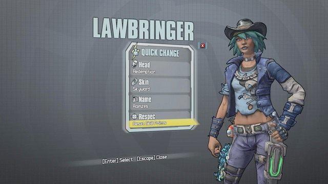 Nisha The Lawbringer to klasa specjalizująca się głównie w pistoletach firmy Jacobs - Nisha The Lawbringer - Klasy postaci - Borderlands: The Pre-Sequel! - poradnik do gry