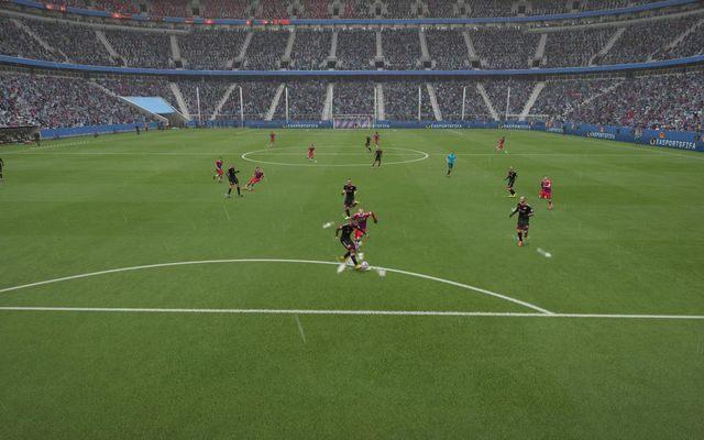 Dezorganizacja defensywy to podstawa przy próbie finalizowania misternie budowanej akcji - Wykończenie akcji - Atak - FIFA 15 - poradnik do gry