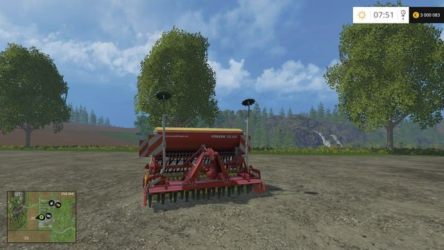 Model: Vitasem 302 ADD - Siewniki - Opis maszyn - Farming Simulator 15 - poradnik do gry