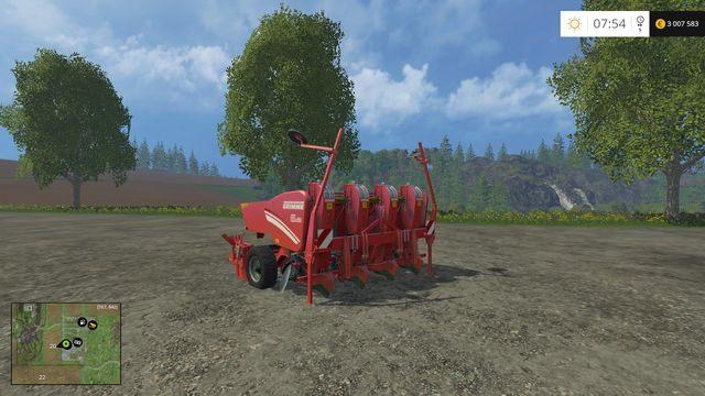 Model: GL 420 - Siewniki - Opis maszyn - Farming Simulator 15 - poradnik do gry