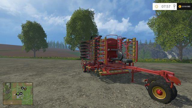 Model: Rapid A 600S - Siewniki - Opis maszyn - Farming Simulator 15 - poradnik do gry