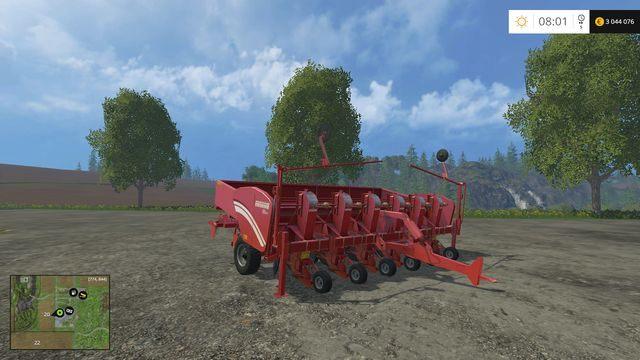Model: GL 660 - Siewniki - Opis maszyn - Farming Simulator 15 - poradnik do gry