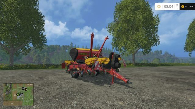 Model: Tempo F8 - Siewniki - Opis maszyn - Farming Simulator 15 - poradnik do gry