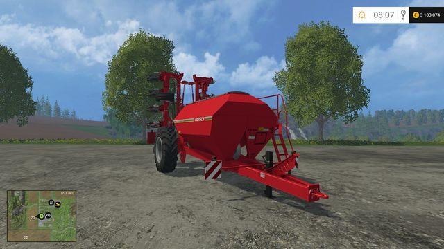 Model: Maestro 12 SW - Siewniki - Opis maszyn - Farming Simulator 15 - poradnik do gry