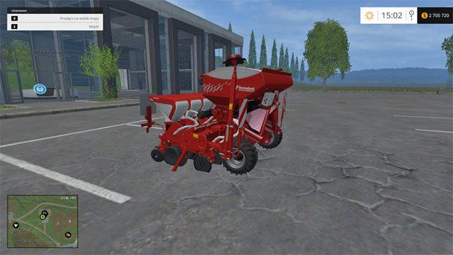 Model: Optima V - Siewniki - Opis maszyn - Farming Simulator 15 - poradnik do gry
