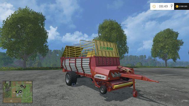 Model: Euroboss 330T - Przyczepy samozbierające - Opis maszyn - Farming Simulator 15 - poradnik do gry