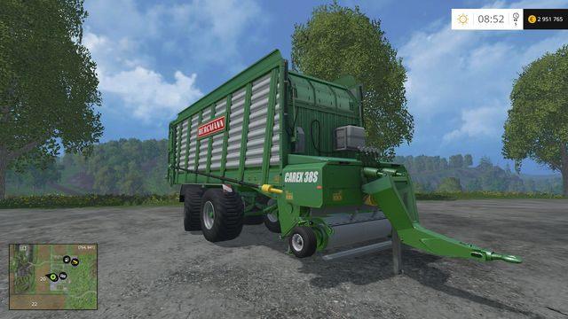 Model: Carex 38S - Przyczepy samozbierające - Opis maszyn - Farming Simulator 15 - poradnik do gry