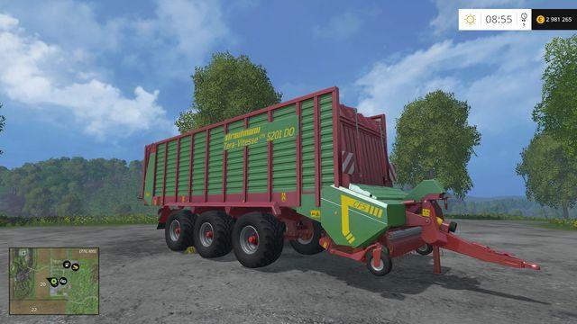 Model: Tera Vitesse 5201 - Przyczepy samozbierające - Opis maszyn - Farming Simulator 15 - poradnik do gry