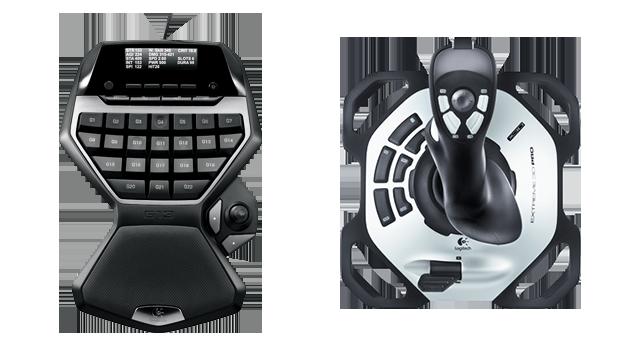 Jednym z najbardziej uniwersalnym i być może najłatwiej przyswajalnym systemem jest użycie gameboardu/keypada w połączeniu z joystickiem - HOGAS (Hands on Gameboard and Stick) | Sterowanie w Elite Dangerous - Elite: Dangerous - poradnik do gry