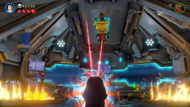 Walka z Cheetah dostępna będzie w trakcie wykonywania wątku głównego Na Strażnicy Porządku - Cheetah - Bossowie i taktyki - LEGO Batman 3: Poza Gotham - poradnik do gry