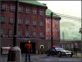 Przed wejściem do więzienia stała para staruszków, którzy od pół godziny głowili się jak wydostać zza płotu kulę do petanque, która im się tam potoczyła - PARYŻ rok 2011 - część 6 - Strażnik Czasu - poradnik do gry