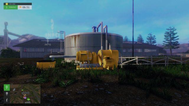 Miejsce, z którego możesz zebrać wyprodukowaną przez zwierzęta gnojownicę - Ważne miejsca i posiadany sprzęt - Farma - Symulator Farmy 2015 - poradnik do gry