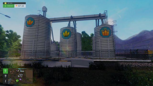 Miejsce, w którym możesz magazynować zboża - Ważne miejsca i posiadany sprzęt - Farma - Symulator Farmy 2015 - poradnik do gry