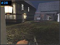 W oknie [#28] z lewej masz snajpera - najlepiej wrzuć mu na dzień dobry granat - Misja 2 - The Causeway - Medal of Honor: Allied Assault - Spearhead - poradnik do gry