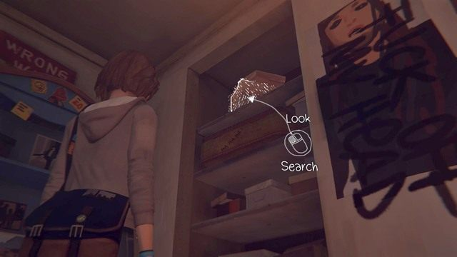 Decyzję znajdziesz w momencie przeszukiwania pokoju Chloe - Decyzje | Epizod 1 - Chrysalis - Life is Strange - poradnik do gry