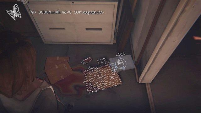 Ostatnia decyzja to moment, w którym przeszukujesz garaż Chloe - Decyzje | Epizod 1 - Chrysalis - Life is Strange - poradnik do gry