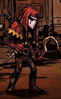Mistrz relaksacyjnej muzyki i cięcia na kawałki, Jester sprawdza się najlepiej jako wsparcie dla drużyny - Arlekin / Jester - Klasy bohaterów - Darkest Dungeon - poradnik do gry