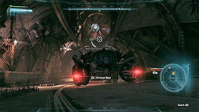 Kolejny cel podróży to wejście do tuneli i znajduje się ono w centralnej części wyspy Miagani - Zinfiltrowanie sieci tuneli pod wyspą Miagani - Główny wątek fabularny - Batman: Arkham Knight - opis przejścia