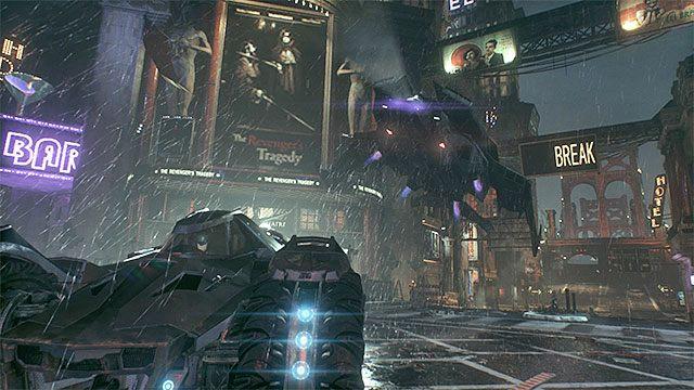 Wysłuchaj rozmowy z Alfredem oraz z Luciusem Foxem - Zatrzymanie wrogiego pojazdu opancerzonego i przesłuchanie kierowcy - Główny wątek fabularny - Batman: Arkham Knight - opis przejścia