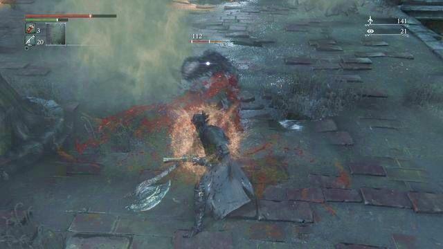 Aby odzyskać utracone punkty życia musisz się śpieszyć - Regaining - Bloodborne - poradnik do gry