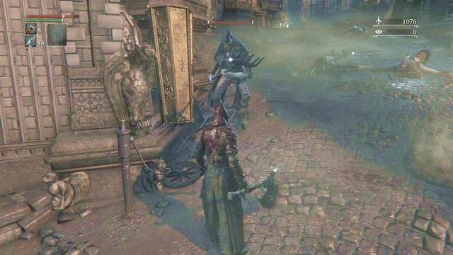 Walcząc ze słabszymi oraz pojedynczymi przeciwnikami zawsze powinieneś korzystać z systemu odzyskiwania punktów życia. - Regaining w Bloodborne - Bloodborne - poradnik do gry