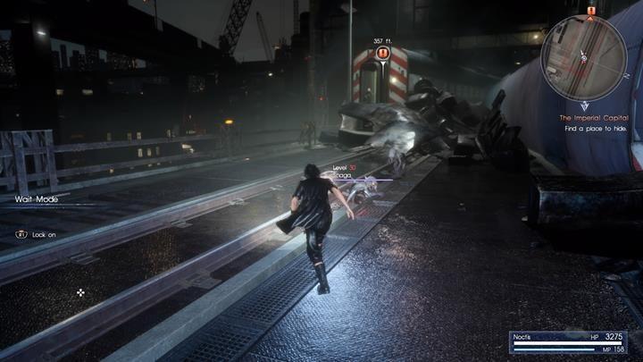 Biegnij do wagonu i uciekaj przed daemonami - Chapter 13 - Redemption - Final Fantasy XV - poradnik do gry