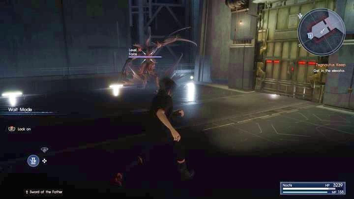 Forasa nie możesz pokonać - poczekaj na widnę i szybko nią ucieknij - Chapter 13 - Redemption - Final Fantasy XV - poradnik do gry