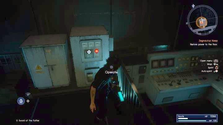 Przywróć prąd w placówce - Chapter 13 - Redemption - Final Fantasy XV - poradnik do gry