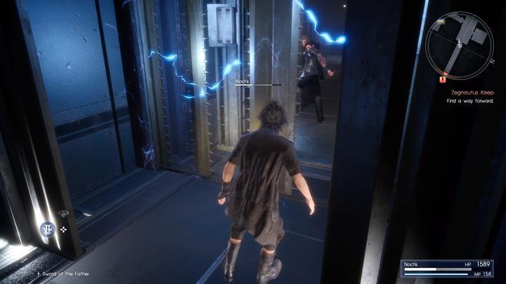 Uciekaj przed pułapką do tyłu, do swoich kompanów - Chapter 13 - Redemption - Final Fantasy XV - poradnik do gry