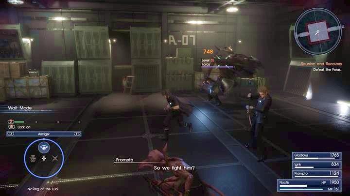 Czas na rewanż z Forasem - tym razem z resztą drużyny i pełnią uzbrojenia - Chapter 13 - Redemption - Final Fantasy XV - poradnik do gry