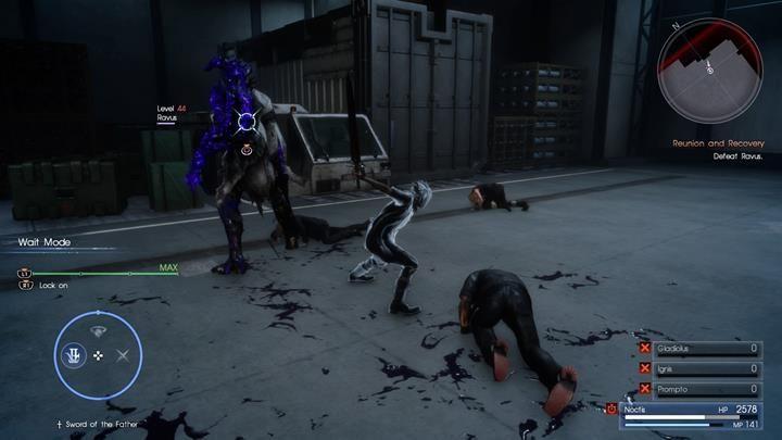 Musisz postawić na bloki i kontry - ataki wroga łatwo przewidzieć - Chapter 13 - Redemption - Final Fantasy XV - poradnik do gry