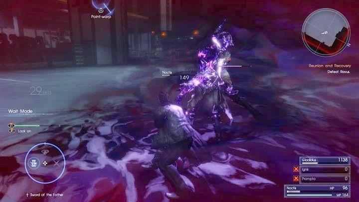 Unikaj wybuchów Ravena - Chapter 13 - Redemption - Final Fantasy XV - poradnik do gry