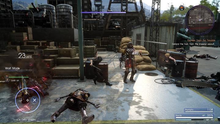 W pierwszej kolejności eliminuj Shock Tropperów - Chapter 11 - In the Dark - Final Fantasy XV - poradnik do gry
