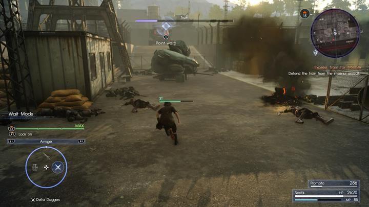 Zniszcz czołg nim zdąży wystrzelić - Chapter 11 - In the Dark - Final Fantasy XV - poradnik do gry