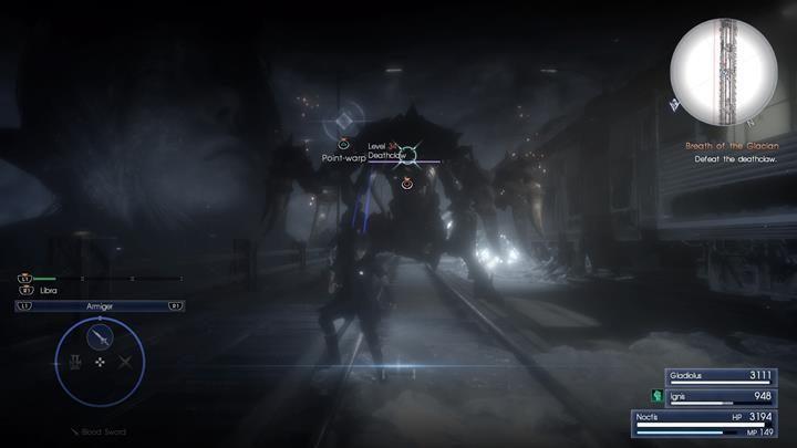 Deathclaw to bardzo potężny i wytrzymały Daemon - Chapter 12 - End of Days - Final Fantasy XV - poradnik do gry