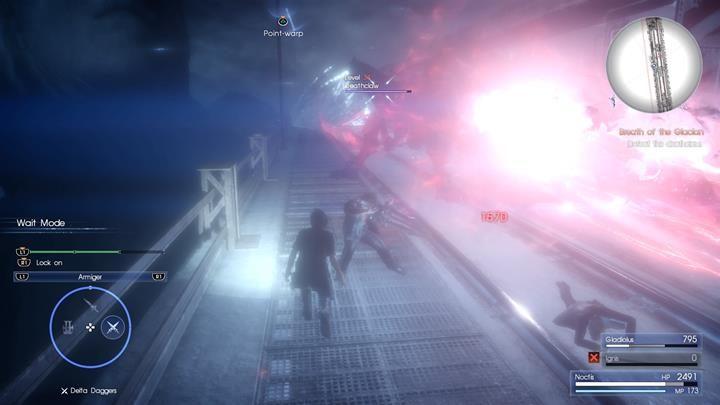 Atak laserem należy bezwględnie unikać - Chapter 12 - End of Days - Final Fantasy XV - poradnik do gry