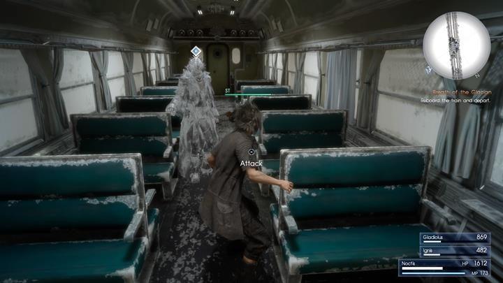 W pociągu czeka Cię sporo cutscenek i mało sekwencji w których będziesz kierował postacią - Chapter 12 - End of Days - Final Fantasy XV - poradnik do gry