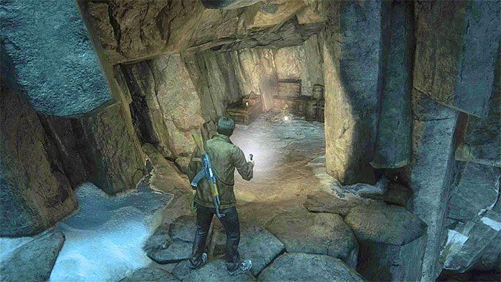 Rozpocznij ten etap od obejrzenia prawej klatki z przymocowaną do niej tabliczką, dzięki czemu odblokujesz pierwszy wpis w dzienniku - 9 - Ci, którzy zasłużą... - Opis przejścia - Uncharted 4: A Thiefs End - poradnik do gry