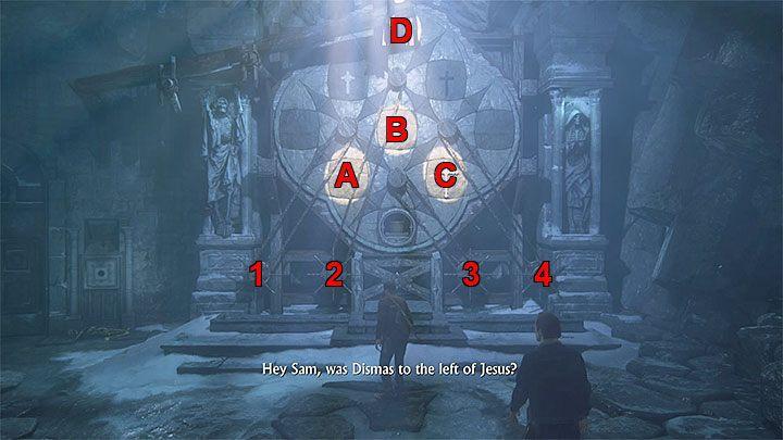 Jeśli chcesz możesz teraz otworzyć dziennik Nathana, który zawiera podpowiedzi odnośnie sposobu rozwiązania zagadki - 9 - Ci, którzy zasłużą... - Opis przejścia - Uncharted 4: A Thiefs End - poradnik do gry