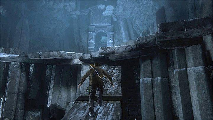 Przeciśnij się między skałami i w kolejnym obszarze zeskocz na niższy poziom - 9 - Ci, którzy zasłużą... - Opis przejścia - Uncharted 4: A Thiefs End - poradnik do gry