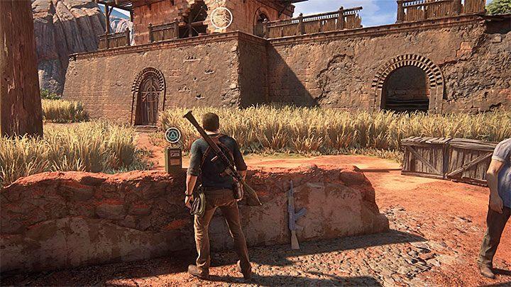 Po zakończonych walkach dobrze byłoby oczywiście pozbierać bronie i amunicję od pokonanych przeciwników, jak również rozejrzeć się dokładnie po okolicy - 10 - Dwanaście wież - Opis przejścia - Uncharted 4: A Thiefs End - poradnik do gry