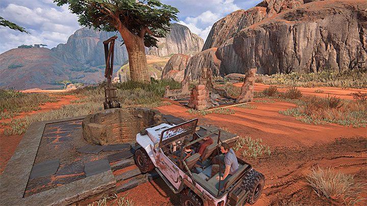 Powróć do jeepa i tym razem wyrusz w stronę obszaru zlokalizowanego na prawo od miejsca startu - 10 - Dwanaście wież - Opis przejścia - Uncharted 4: A Thiefs End - poradnik do gry
