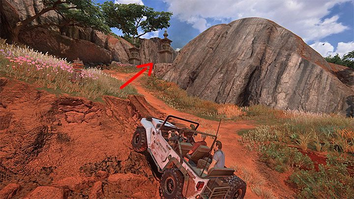 Po tym jak uznasz, że dostatecznie zbadałeś główny obszar mapy, możesz wyruszyć do punktu 7, czyli do przejścia prowadzącego w stronę mostu zwodzonego - 10 - Dwanaście wież - Opis przejścia - Uncharted 4: A Thiefs End - poradnik do gry