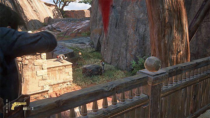 Po wyeliminowaniu dostatecznej liczby najemników do miejsca staczania walk dotrze drugi pojazd i zatrzyma się on niedaleko pierwszego - 10 - Dwanaście wież - Opis przejścia - Uncharted 4: A Thiefs End - poradnik do gry