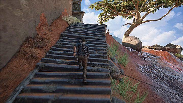 Powróć do jeepa, przejedź po opuszczonym moście i wyrusz dalej - 10 - Dwanaście wież - Opis przejścia - Uncharted 4: A Thiefs End - poradnik do gry