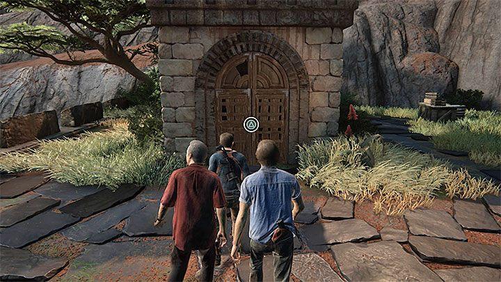 Nabierz rozpędu i skorzystaj ze znajdującej się tuż obok skoczni, lądując na moście prowadzącym bezpośrednio w stronę wieży - 10 - Dwanaście wież - Opis przejścia - Uncharted 4: A Thiefs End - poradnik do gry